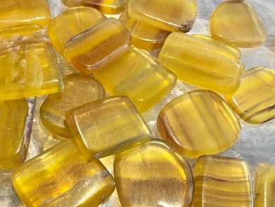 Yellow Flourite