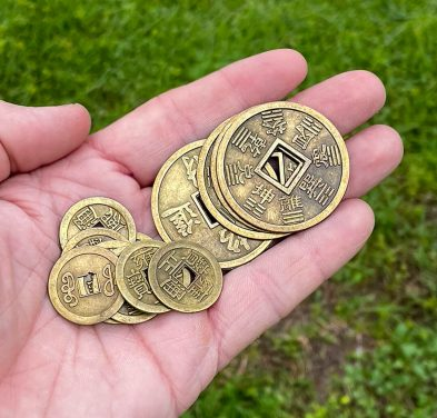 Chinese Feng Shui Coins Good Luck Fortune