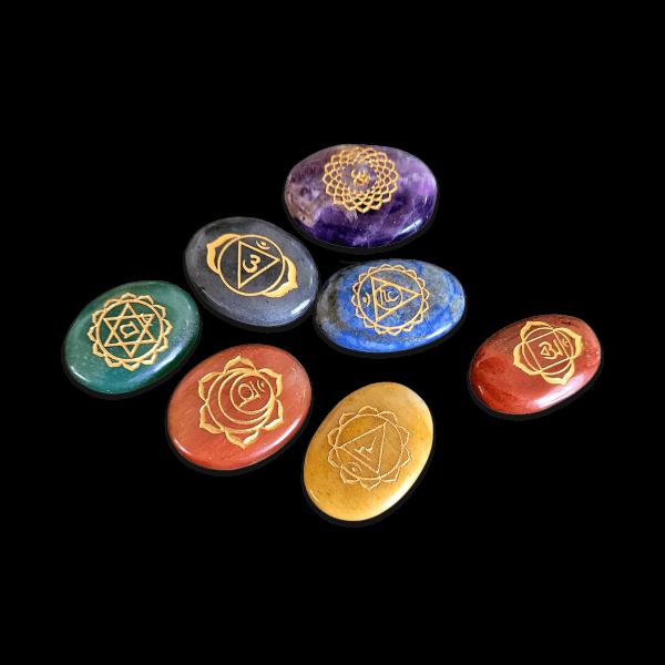 Chakra gemstone set